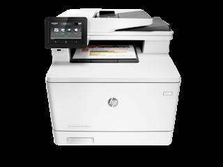 Drivers HP Color LaserJet Pro MFP M477 series download