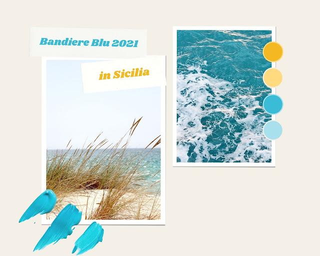 Sicilia spiegge bandiera blu 2021