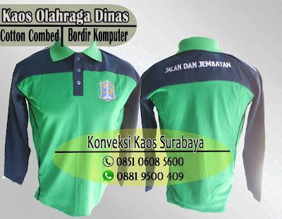 grosir kaos olahraga berkerah di Surabaya, order kaos olahraga murah surabaya