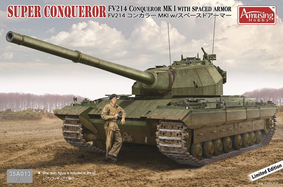 Novedades de Amusing Hobby Super%2BConquerer%2BF214%2BConqueror%2BMk%2BI%2BW%2BSpaced%2BArmour.%2B%2528Limited%2BEd%2529%2B%25281%2529