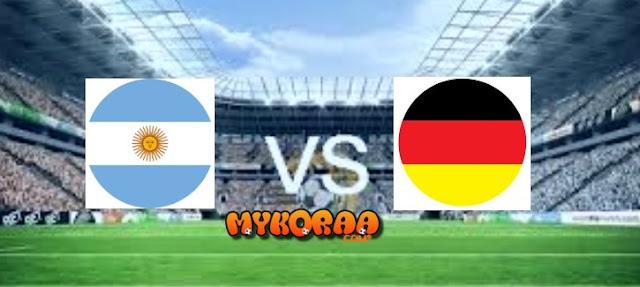 بث مباشر وحصري للمباراة الودية الدولية بين منتخبين المانيا والارجنتين