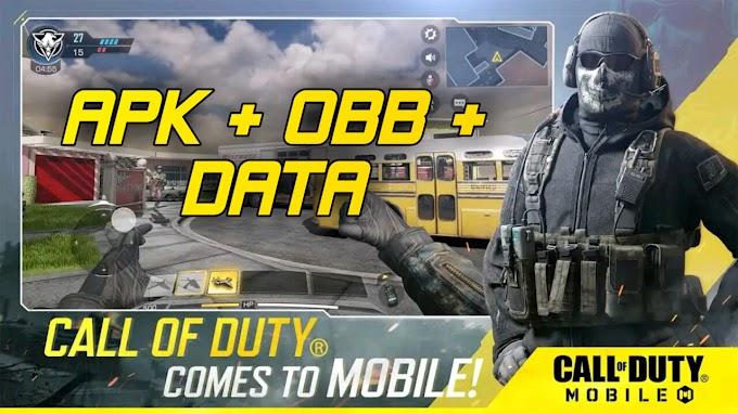 Download COD Mobile Apk Obb - Battle Royale Latest Version (1.0.8)