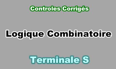 Controles Corrigés de La Logique Combinatoire Terminale S PDF