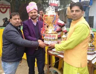 Jaunpur  श्रीराम पीजी कॉलेज निगोह बना यादवेश कप विजेता
