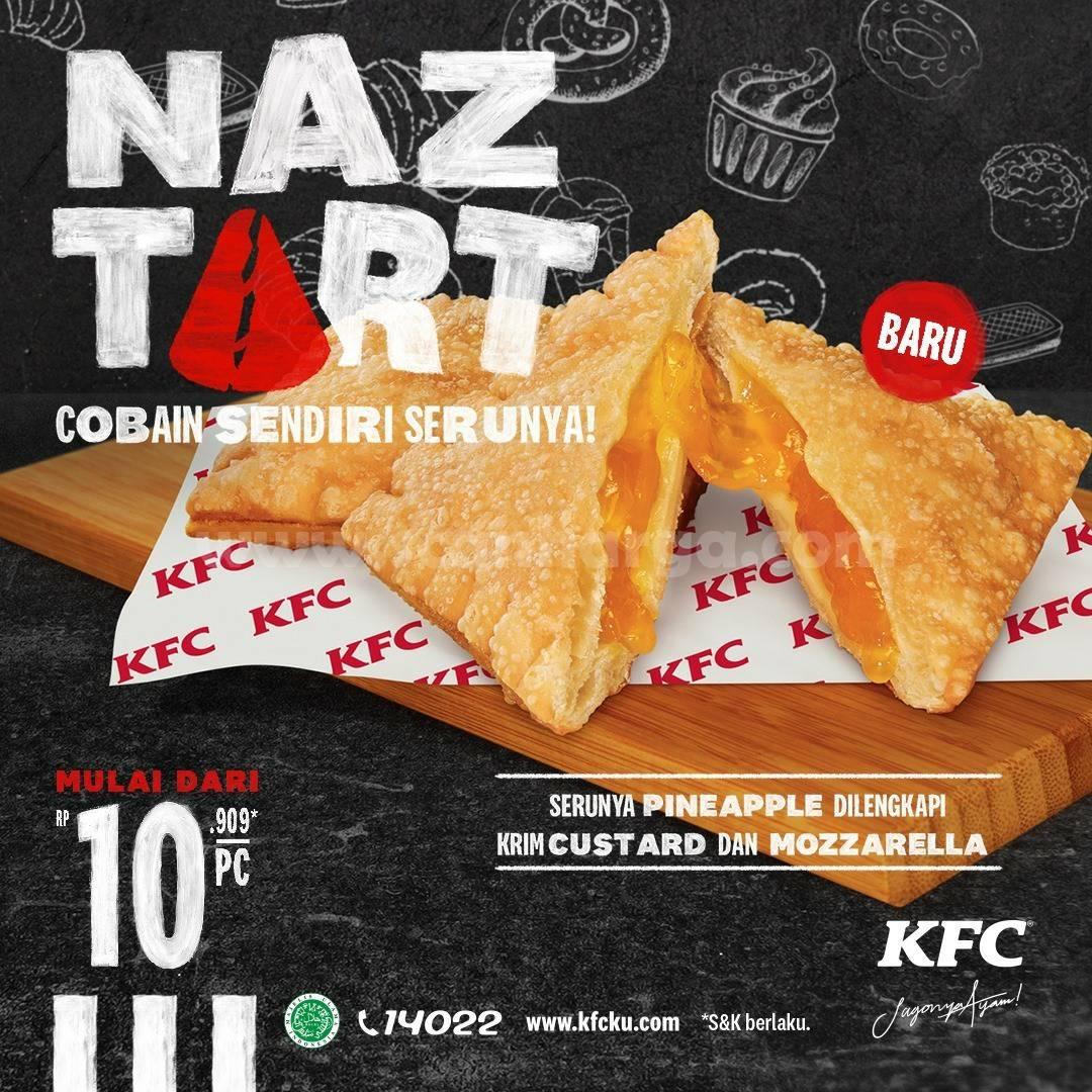 Baru! Promo KFC NAZTART harga Spesial mulai dari Rp 10.909 PCS