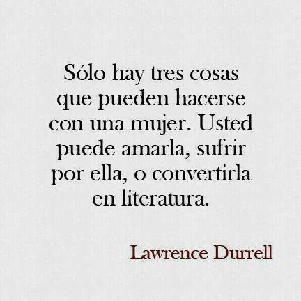 frases de Lawrence Durrell