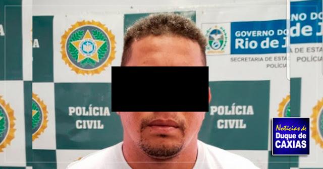 Suspeito de matar bombeiro em Duque de Caxias é preso