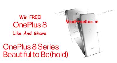 OnePlus 8 FREE
