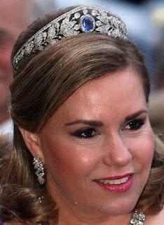 sapphire tiara luxembourg grand duchess marie adelaide maria teresa