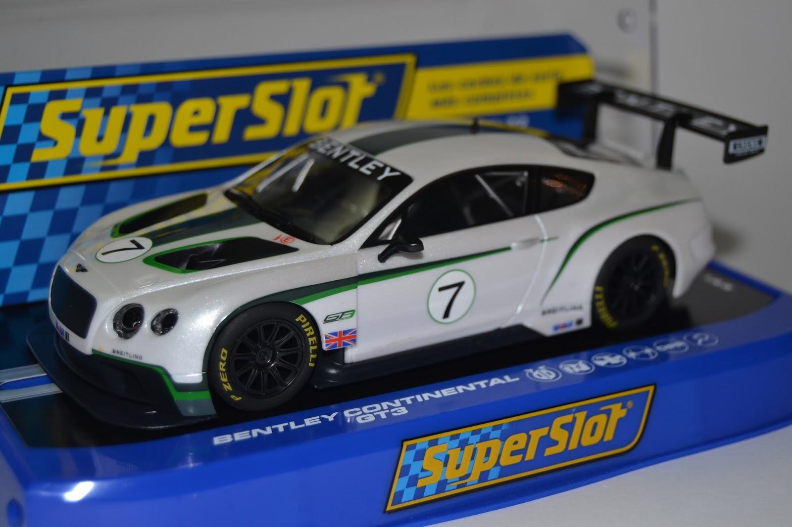 Slot - Outra Dimens\u00e3o: Mais dois Bentley - Scalextric ...