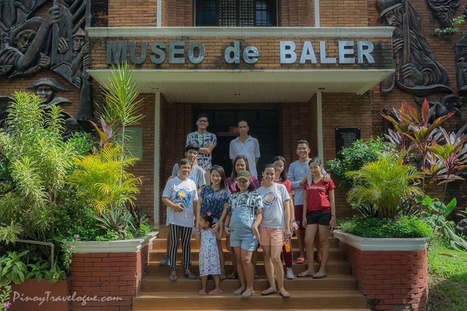 Museo de Baler's main entrance