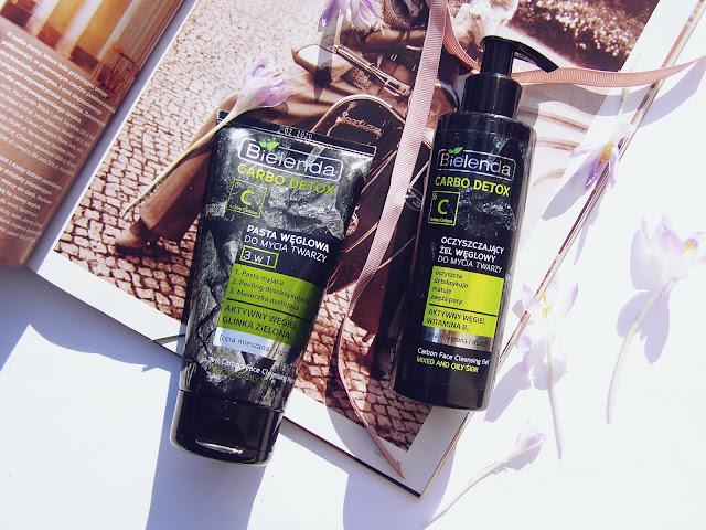 Bielenda Carbo Detox: Oczyszczający żel węglowy & pasta węglowa do mycia twarzy