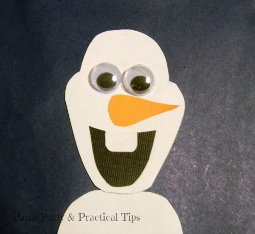 How to make a #Frozen Olaf the Snowman