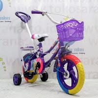 12 asagi princess ctb sepeda anak tongkat