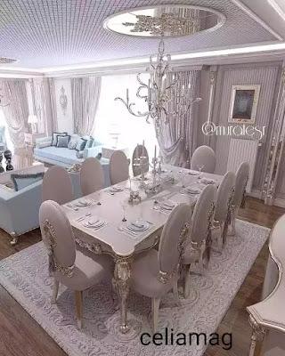 décoration salon moderne افكار تزيين صالون