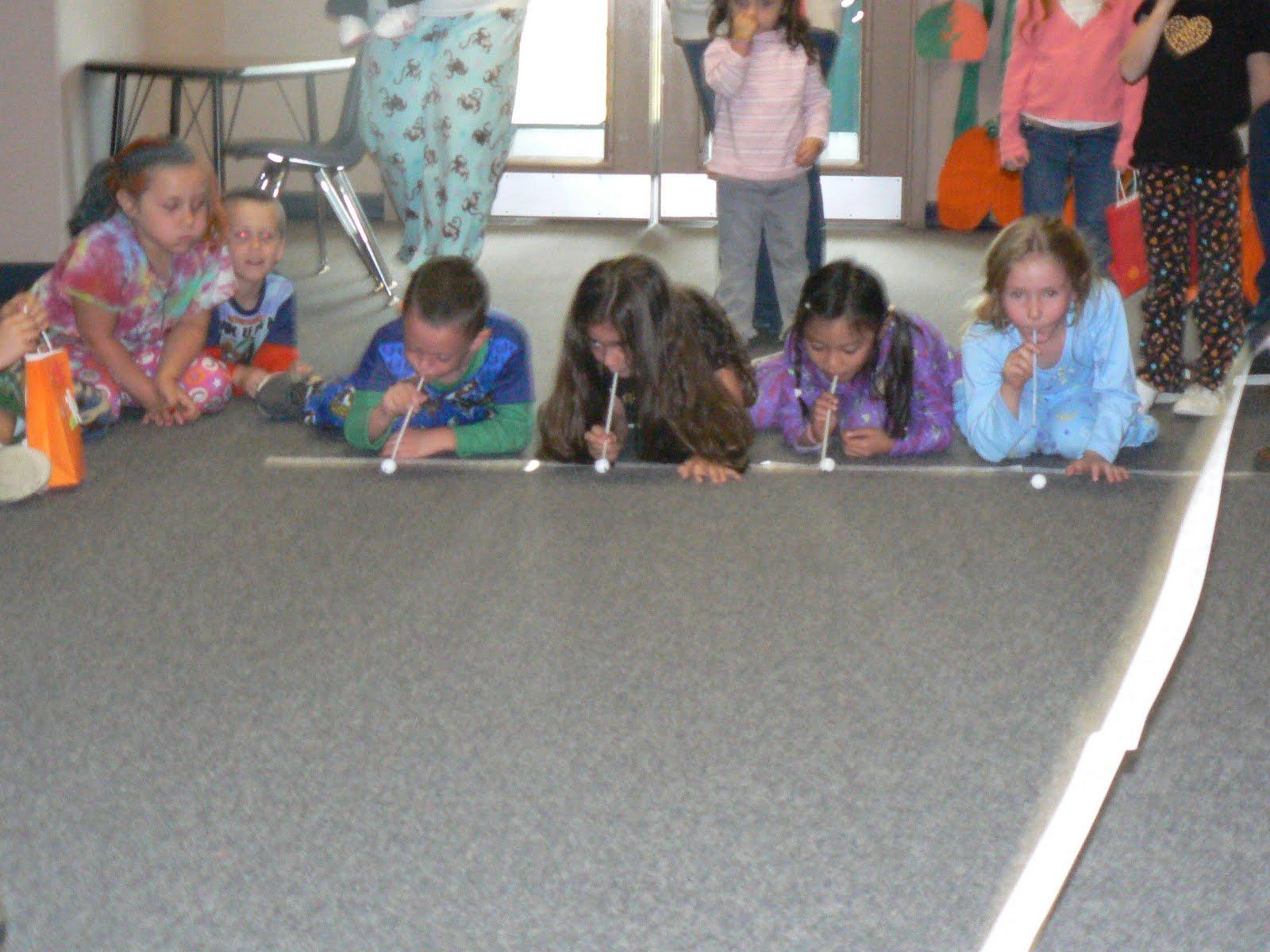 Mrs T S First Grade Class Halloween Games