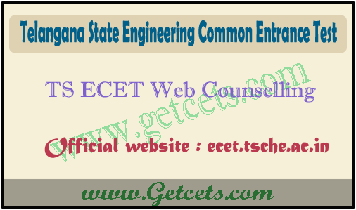 TS ecet counselling dates 2021-2022, web options at tsecet.nic.in