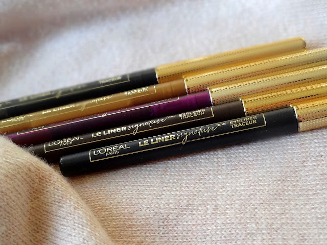 L'Oreal Le Liner Signature Mechanical Liners Review, Photos, Swatches