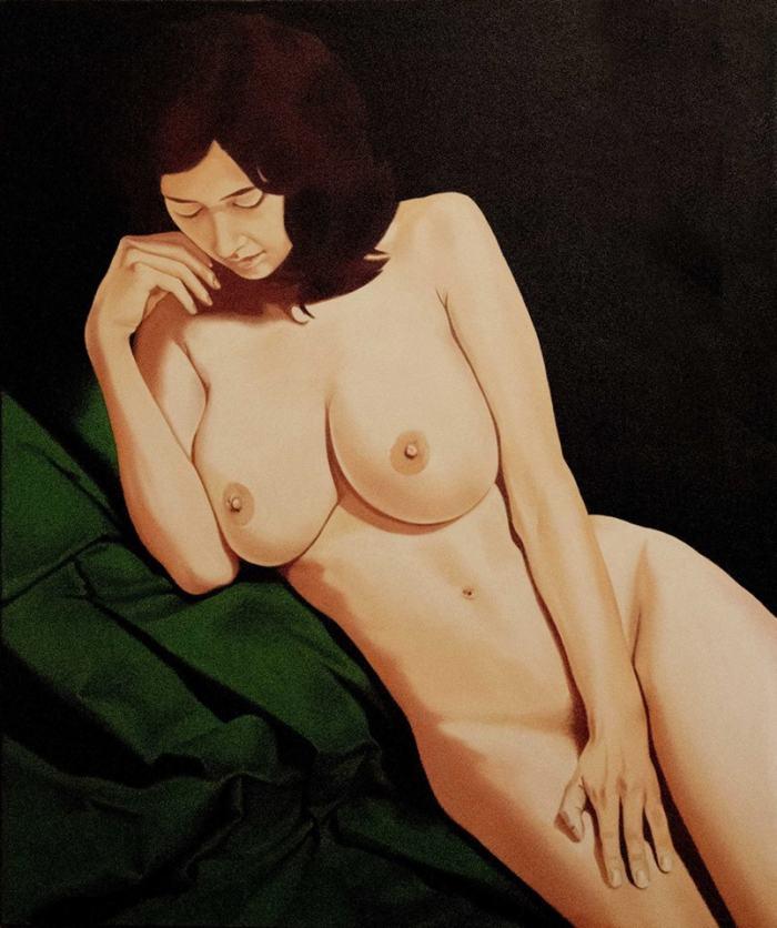 Итальянский художник. Luigi Maria de Rubeis