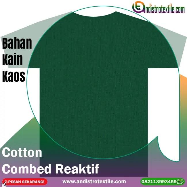 Jual Bahan Kaos Distro Cotton Combed 30s Tasikmalaya