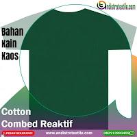 Jual Bahan Kaos Distro Cotton Combed 30s Tasikmalaya Kiloan Plus Rib