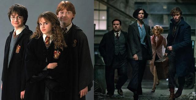 Хари Потър, Фантастични животни и къде да ги намерим