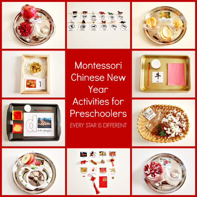 Montessori Chinese New Year Activities for Preschoolers