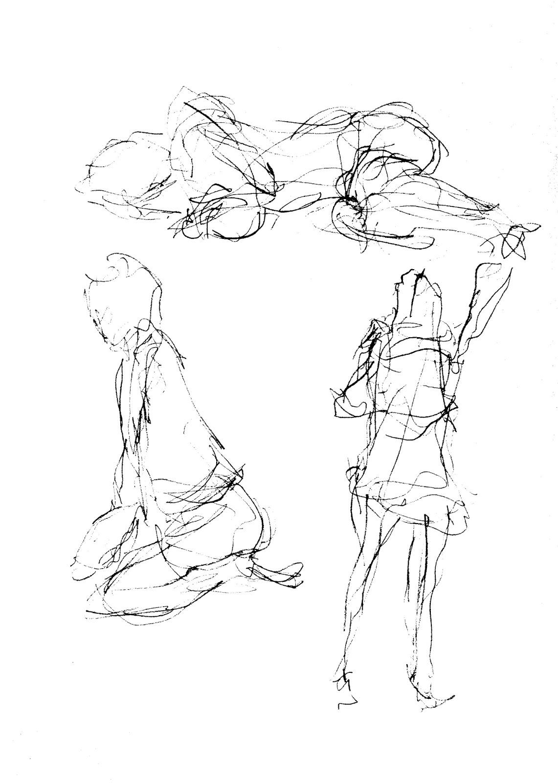 Gesture Matisse Drawing 9