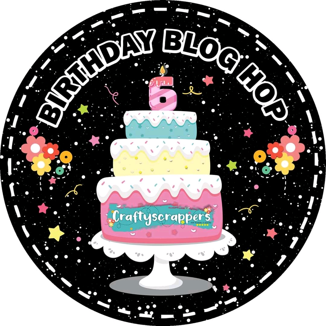 Craftyscrappers birthday blog hop