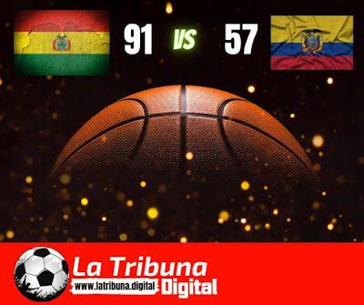 Selección boliviana de basquetbol