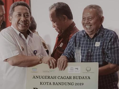 Penerima Anugerah Cagar Budaya Kota Bandung 2019