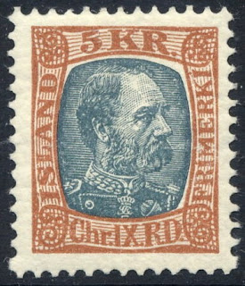 Iceland - 1902 - King Christian IX - 5K