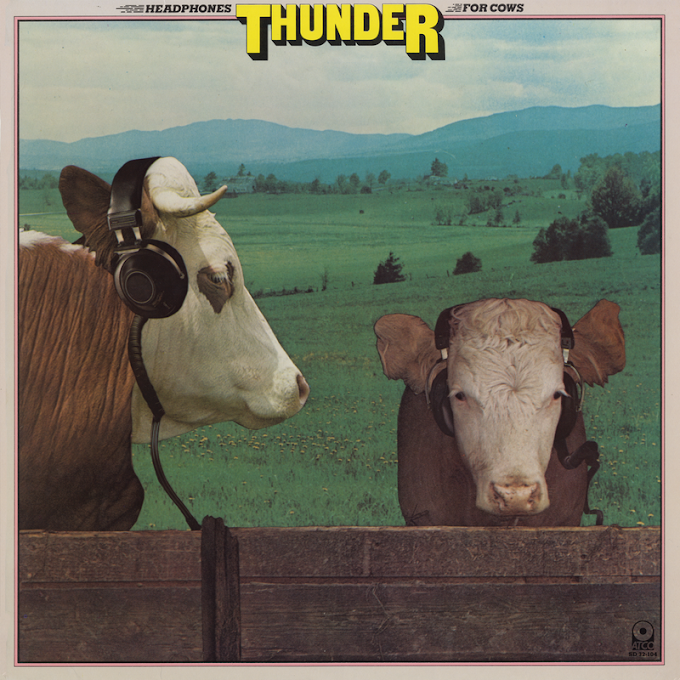 Thunder - Headphones For Cows (1981, Soft Rock)