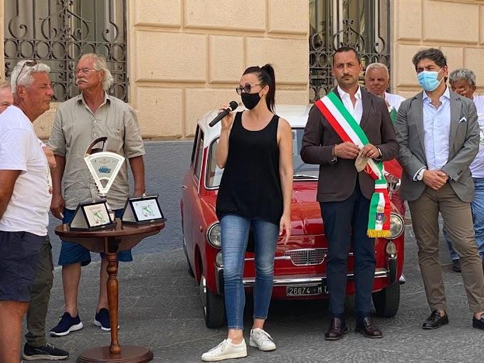 "Tappa a Potenza di ""Giro d'Italia in bianchina"""