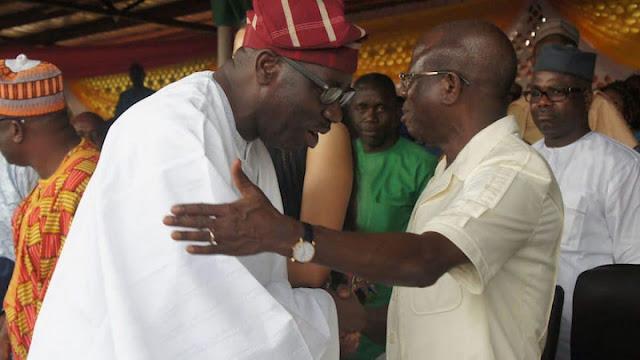 Oshiomhole apologises to Gov. Obaseki, Oba Akiolu