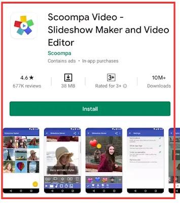 photo se video banane wala app online