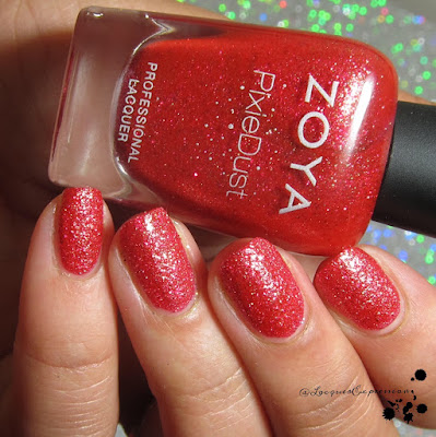 nail polish swatch of Linds by zoya