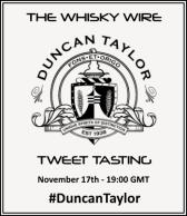 Duncan Taylor Tweet Tasting