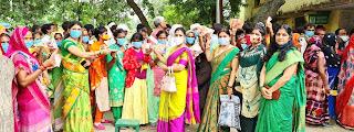 #JaunpurLive : सखी वेलफेयर फाउंडेशन ने लोगों को किया जागरूक