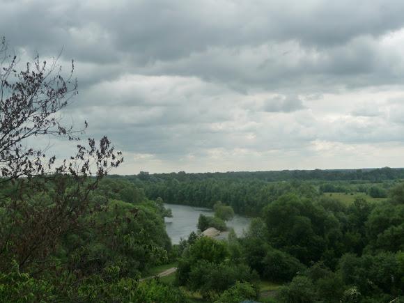 Батурин. Река Сейм