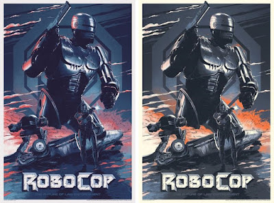 New York Comic Con 2018 Exclusive Robocop Screen Print by Juan Esteban Rodriguez x Grey Matter Art