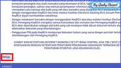cara buat internet banking BCA