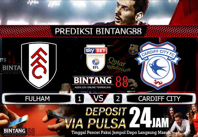 Prediksi Fulham vs Cardiff City  31 Juli 2020 – Pada hari Jumat, 31 Juli 2020 pukul 01:45 waktu indonesia barat akan di adakan laga pertandingan Liga Championship antara Fulham vs Cardiff City. Pertandingan ini nantinya akan di laksanakan di Stadion Craven Cottage.