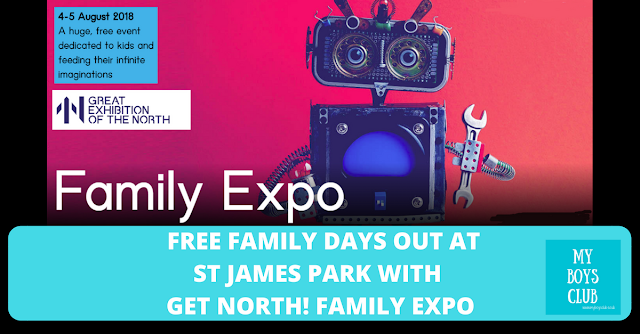 Free Family Days Out at St James Park with Get North! Family Expo