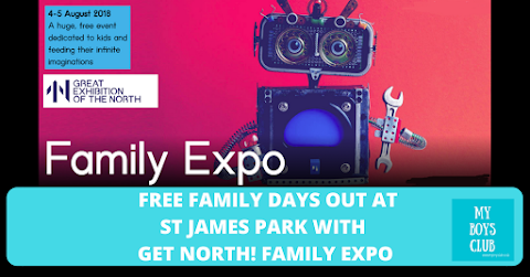 Free Family Days Out at St James Park with Get North! Family Expo Preview - (AD)