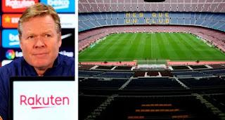 Camp Nou 'to become mass coronavirus vaccination centre': Koeman