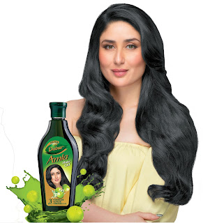 Kareena Kapoor Khan – the new face of Dabur Amla Hair Oil
