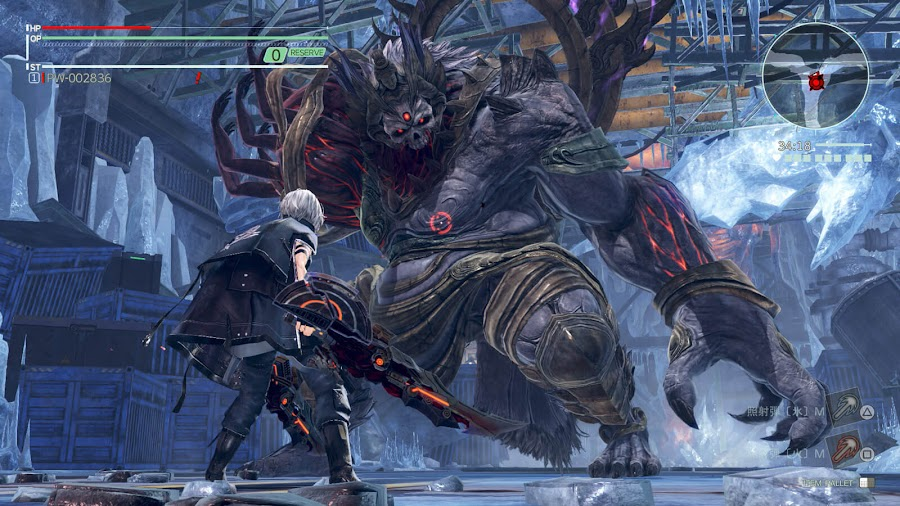 god eater 3 multiplayer ps4 ash aragami