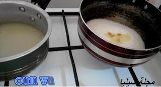 طريقة صنع عسل ام وليد -مجلة سيليا