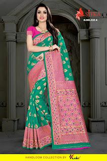 Kodas kopico 332 Wedding Ethnic Saree catalog